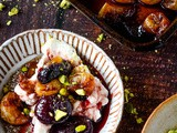 Baked Grapes With Labneh And Pistachios + Video