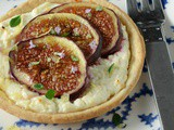 Fig and feta tarts