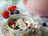 Green Tea And Quinoa Porridge