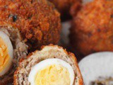 Mini scotch eggs