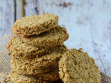 Oat and Almond Crumble Crackers