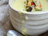 Parsnip Soup With Apple Salsa