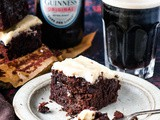 The Easiest Guinness Chocolate Brownies (+video!)