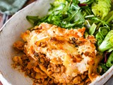 The Easiest Lazy Vegetarian Lasagne Recipe