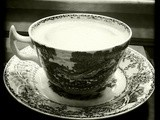 Black and White Wednesday: Lauren's Pale Hot Cocoa
