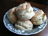 Tea Time Treats: Rosemary Cream Scones