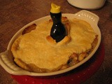 Traditional British Food: Chicken and Mushroom Pie