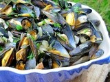 A Secret Recipe on Boxing Day ~ Steamed Mussels ~ a Simple Mussels Dinner