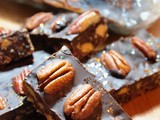 Foggy November, We Should Cocoa with Spiced Apple and Cranberry Chocolate Crunch Bars