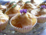 Lavender and Lace.........continuing with Lavender for Monday with Lavender Fairy Cakes ~ Cup Cakes