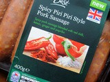 Product Review ~ Morrisons  The Best  Spicy Piri Piri Style Pork Sausages and My Quick Butter Bean Summer Cassoulet