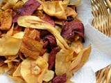 Roots Rule! Fleur De Sel and Make your own Beetroot, Carrot and Parsnip Crisps (Chips)