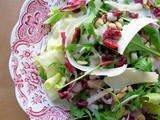 The Winter Salad Bar, Planning and Cranberry, Pine Nut and Parmesan Salad