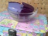 Lazy cooks eggless grape mousse