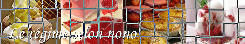 Very Good Recipes - Le régime selon nono