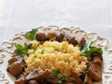 Cous cous ai funghi ricetta vegana veloce