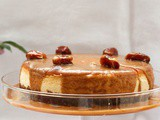 Arabic coffee and date cheesecake