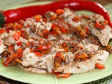 Baked Fish With Sumac and Oregano Spices Recipe