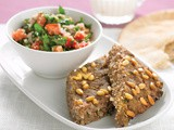 Baked kibbeh with tabouli recipe
