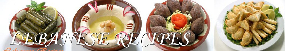 Very Good Recipes - LEBANESE RECIPES