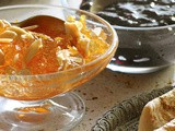 Bitter orange marmalade with rosewater and almonds recipe