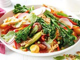 Broccolini fattoush recipe