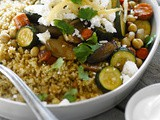 Bulgur with Roasted Vegetables Recipe