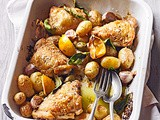 Chicken & new potato traybake recipe