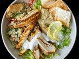 Chicken Shawarma Salad Recipe