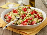 Couscous Salad with Tomatoes and Mint Recipe