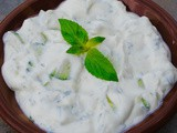 Cucumber and greek yogurt recipe