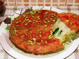 Delicious Arabic Sweet Kunafa Recipe (Knafeh)