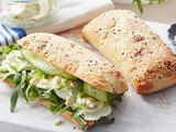 Egg and cucumber Turkish roll recipe