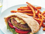 Falafel Burgers with Hummus Recipe