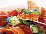 Fattoush (Middle Eastern bread salad) recipe