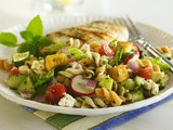 Fattoush Pasta Salad Recipe