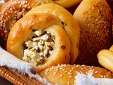 Feta-and-Herb-Filled Pogaca Rolls Recipe