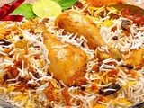 Fried chicken biryani recipe