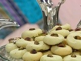 Ghoriba with Pistachio (Butter cookie with pistachio) Recipe