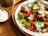 Greek lamb meatball salad recipe