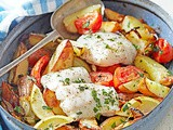Greek-style roast fish recipe