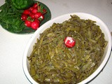 Green Beans and Olive Oil Saute – Loubieh Bi Zait Recipe
