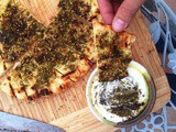 Grilled Flatbread With Olive Oil and Za'atar Recipe