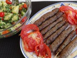 Grilled Kafta and Potato Salad Recipe