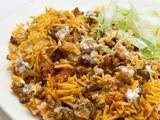 Halal Cart-Style Chicken and Rice With White Sauce Recipe