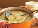 Hearty chicken and vegetable soup recipe