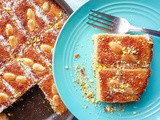 How to make orange and coconut semolina cake