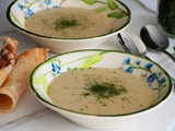 Kishk Soup with Garlic Recipe
