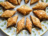 Lebanese baklawa diamonds recipe