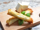 Lebanese Cheese Rolls Recipe